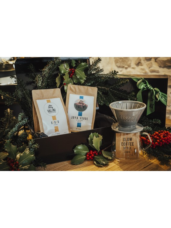 Coffret Noël Slow Coffee -...