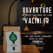 C'est un plaisir de vous annoncer la mise en ligne de notre boutique :  valini.fr ---- Après plusieurs mois d'attente, nous sommes heureux de pouvoir vous présenter notre société et notre gamme de café de spécialité. Ce site a été pensé pour vous, nos clients, afin que vous puissiez commander le café de votre choix parmi notre sélection de café et tout le matériel nécessaire pour le déguster.  Vous trouverez toutes les informations nécessaires concernant nos cafés, ainsi que l'histoire de la société et notre actualité. Concernant nos cafés, ils sont disponibles en sac de 250g ou d'1kg.  Il vous sera possible de choisir le type de mouture que vous souhaitez selon le type de machine à café que vous utilisez chez vous.  PROFITEZ JUSQU'AU 31 MAI 2020 DE 10% DE REMISE SUR VOTRE COMMANDE GRÂCE AU CODE PROMO: CROCONEWS  N'hésitez pas à nous transmettre également vos remarques et vos avis via le biais du formulaire de contact présent sur le site, nous tacherons d'améliorer l'expérience de la visite du site si nécessaire.  Nous espérons que vous apprécierez ce nouveau moyen de communiquer avec nous, nous vous souhaitons une bonne découverte du site.  Merci encore pour votre patience !  Au plaisir de vous conseiller !  #valini #torrefacteur #torrefaction #probat #roastery #roasterdaily #nimes #cma30 #gard #gardtourisme #nimestourisme #artisan #artisanatfrancais #cafe #atelier #opening #coffeelovers #probat150 @madeingard